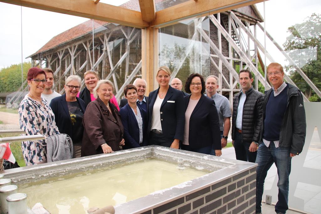 Besuch des CDU-Kreisvorstandes Steinfurt an der Saline Gottesgabe