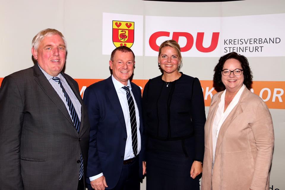 53. Kreisparteitag der CDU im Kreis Steinfurt