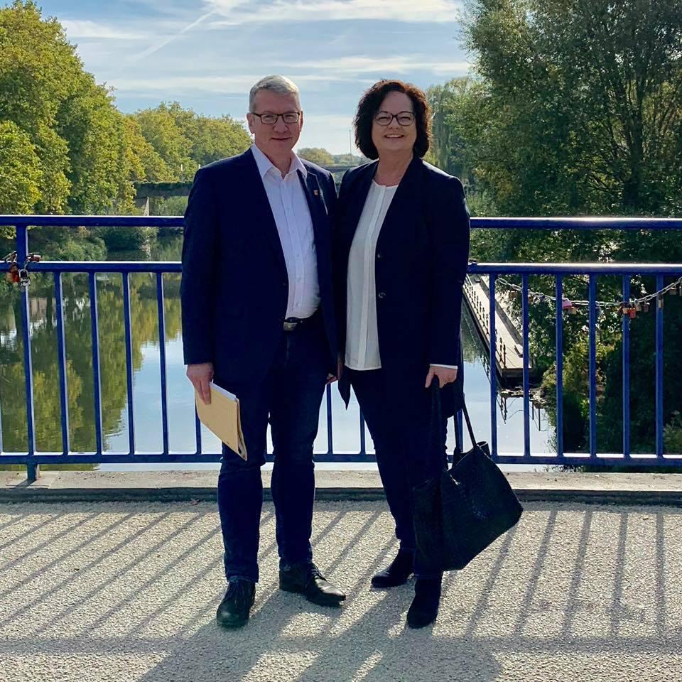 Hintergrundgespräch mit Landrat Klaus Effing in Rheine