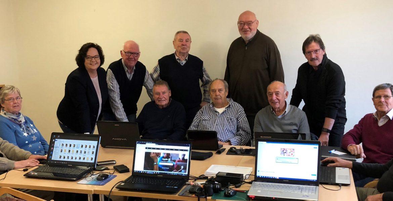 Zum Tag der Medienkompetenz: Andrea Stullich besucht das Mehrgenerationenhaus in Saerbeck