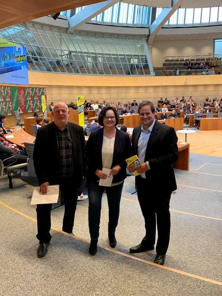 """""""Tag der Medienkompetenz"""" im Düsseldorfer Landtag"""