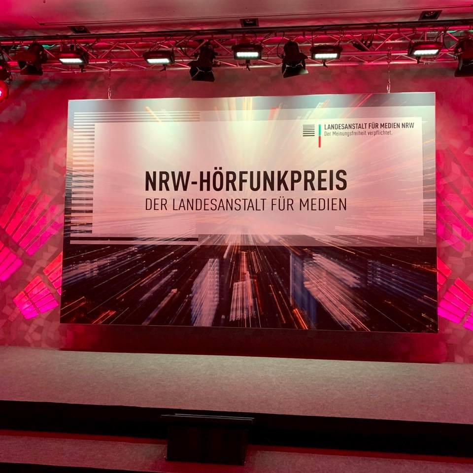Verleihung des NRW-Hörfunkpreises in Düsseldorf