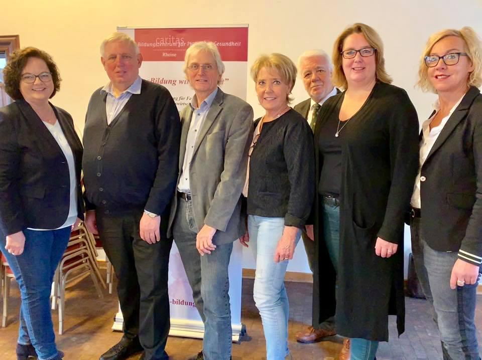 Gesundheitsminister Karl-Josef Laumann besucht das Caritas-Bildungszentrum für Pflege und Gesundheit in Rheine