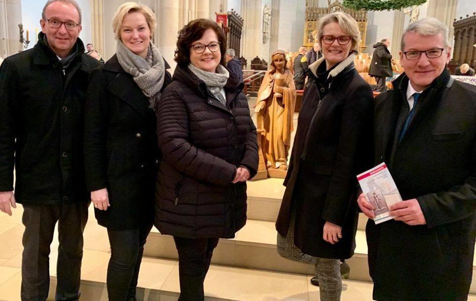 Barbara-Messe in Mettingen