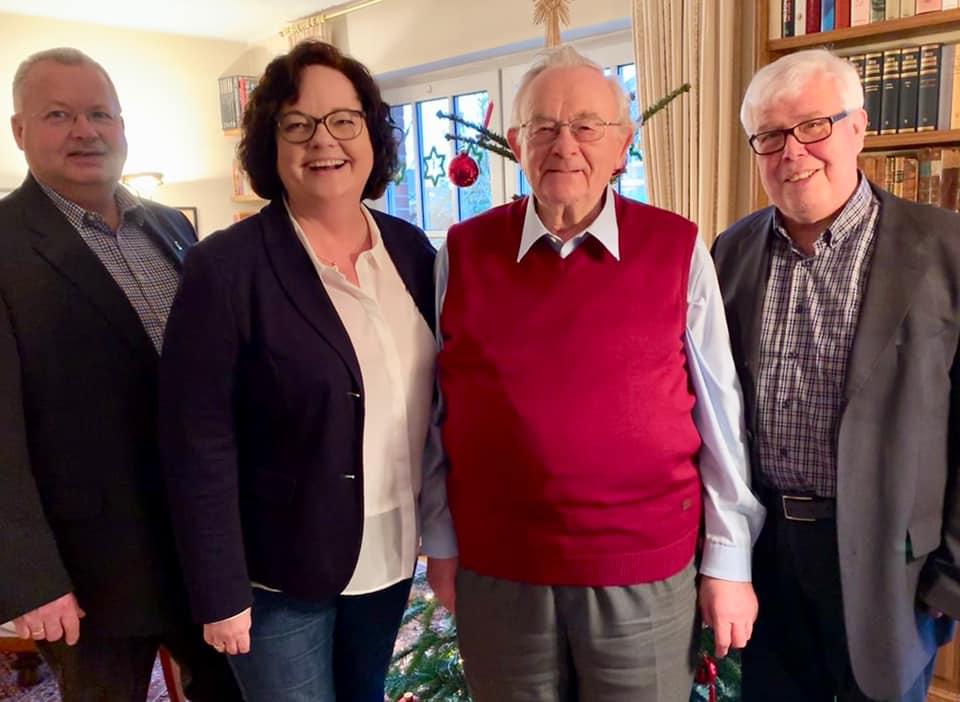 Gratulation an Josef Wilp zum 80. Geburtstag
