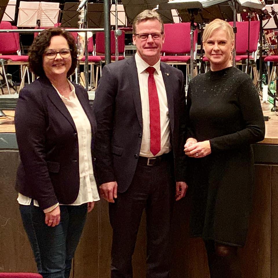 Konzert der Jungen Bläserphilharmonie NRW in Rheine