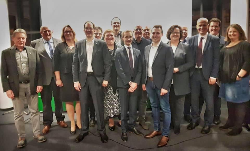 CDU-Neujahrsempfang in Rheine mit dem Vorsitzenden der CDU/CSU-Bundestagsfraktion, Ralph Brinkhaus