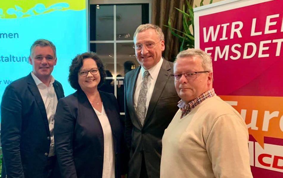 CDU-Veranstaltung zur Westumgehung in Emsdetten