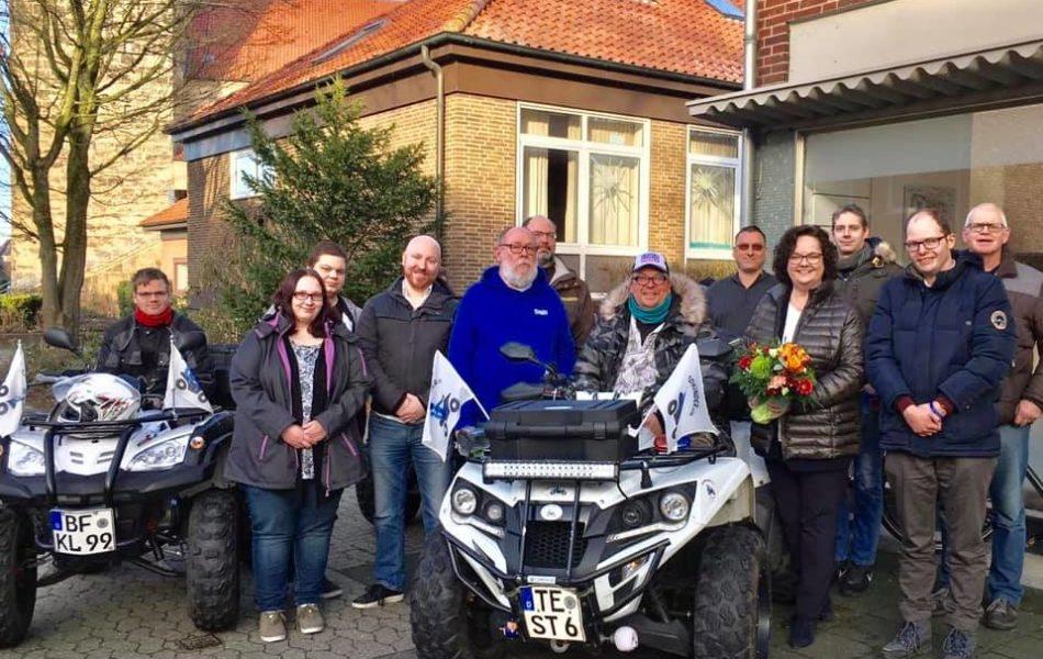 """Gespräch mit den Vereinen """"Stop Bullying"""" und """"Quadkinder – wir helfen Kindern"""" in Rheine"""