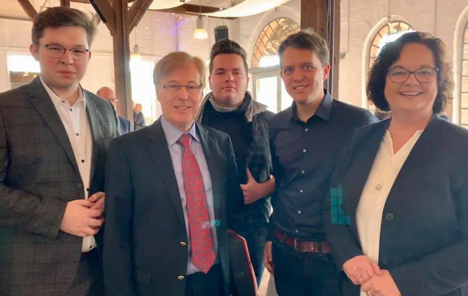 Neujahrsempfang der CDU Ibbenbüren mit NRW-Justizminister Peter Biesenbach