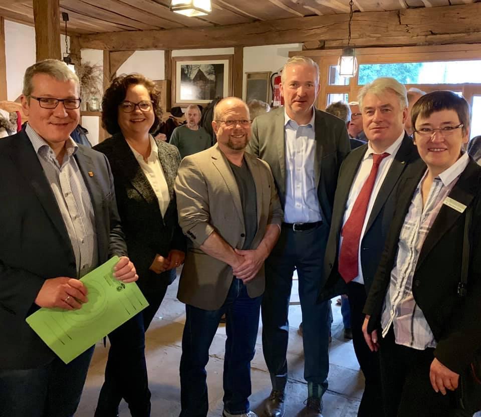 Neujahrsempfang NABU Kreisverband Steinfurt im Walshagenpark in Rheine