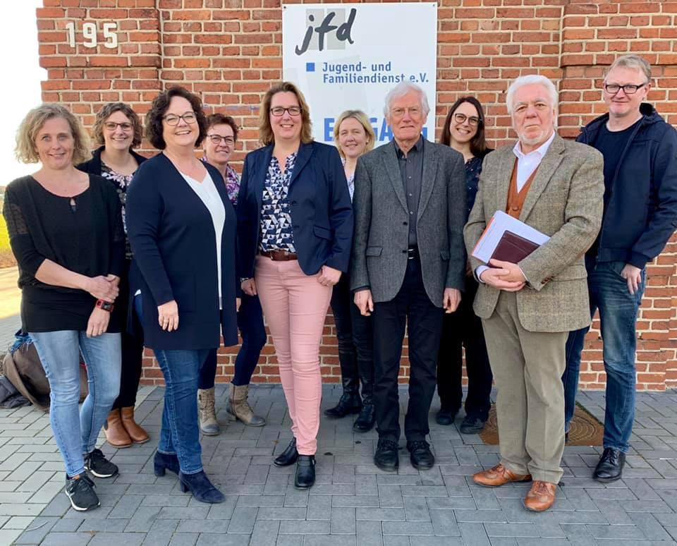 Besuch beim Jugend- und Familiendienst Rheine e.V. (jfd)