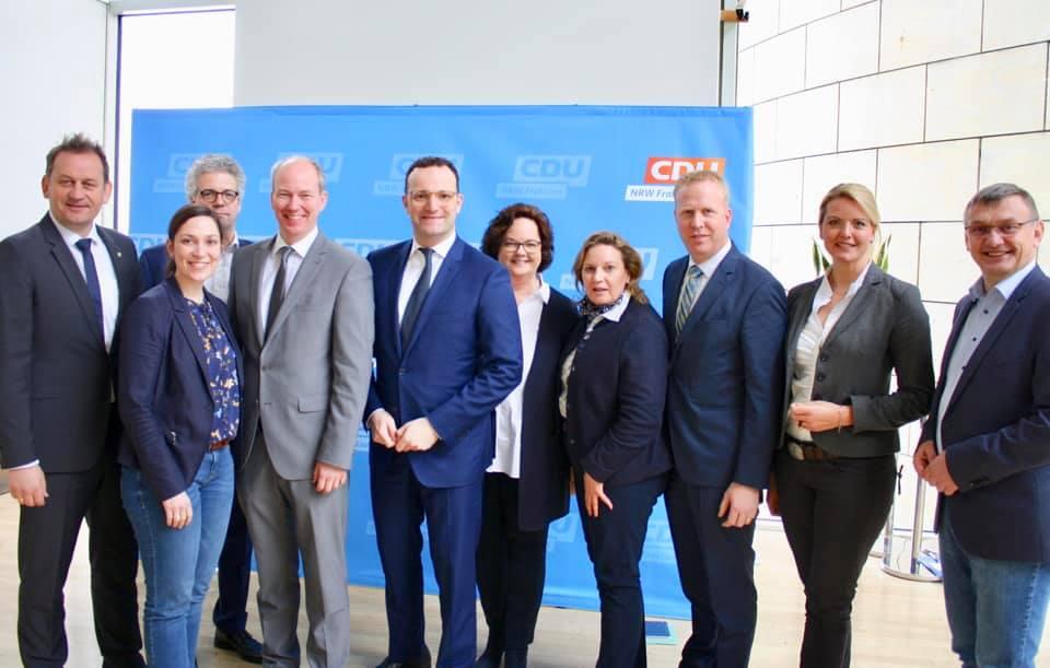 Besuch von Bundesgesundheitsminister Jens Spahn MdB in der CDU-Landtagsfraktion