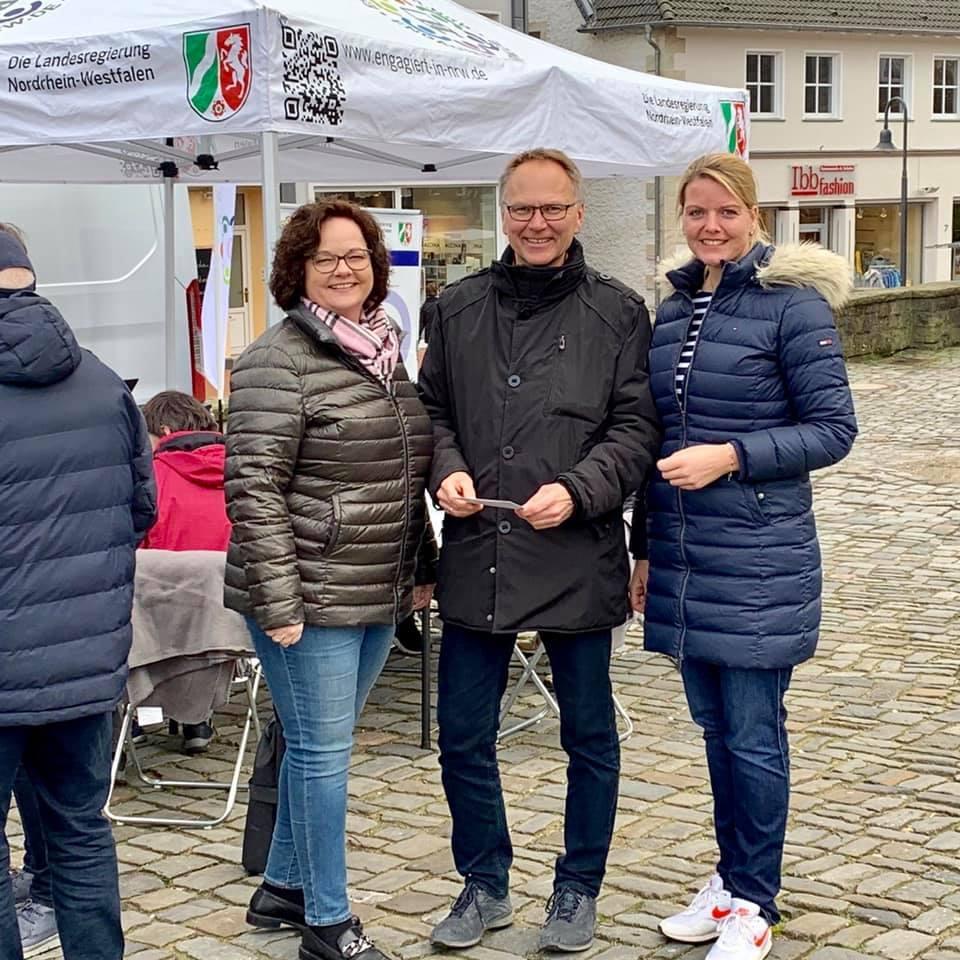 Ehrenamtstour der Landesregierung zu Gast in Ibbenbüren