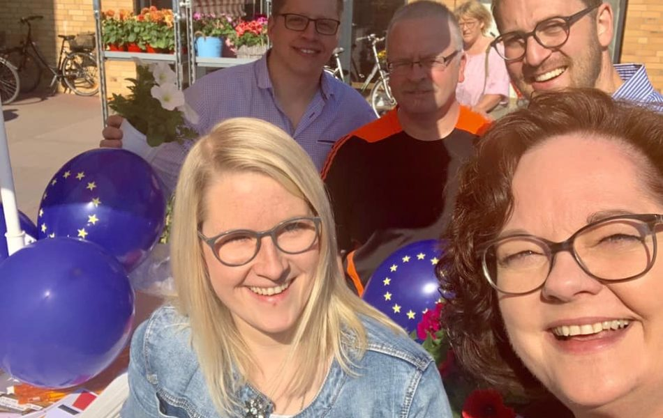 Europawahlkampf für Dr. Markus Pieper in Riesenbeck, Emsdetten und Rheine