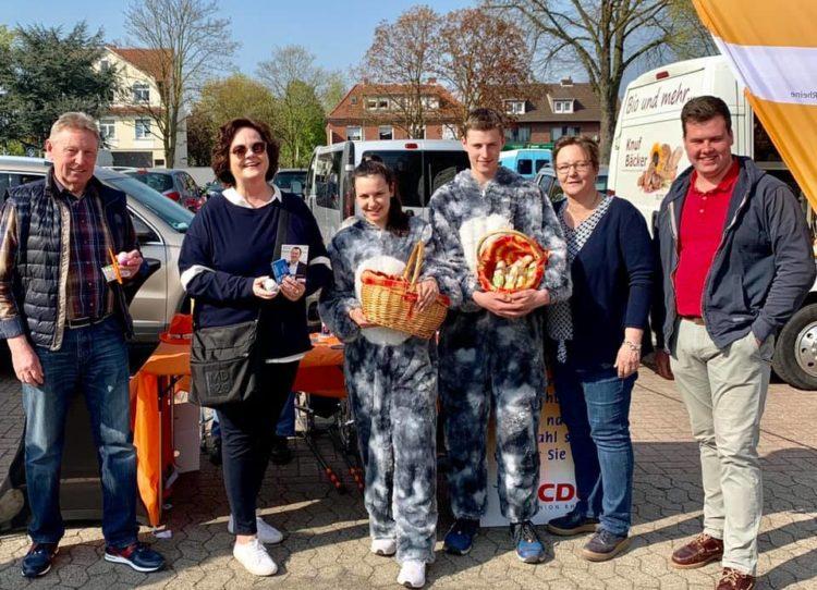 Wahlkampf für Dr. Markus Pieper in Rheine