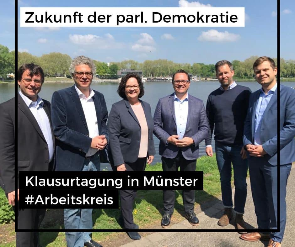 "Klausurtagung der Enquete-Kommission ""Demokratie"" in Münster"