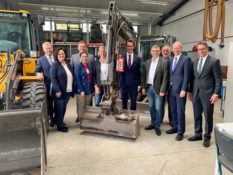 Tour der CDU-Münsterlandrunde durch das Münsterland