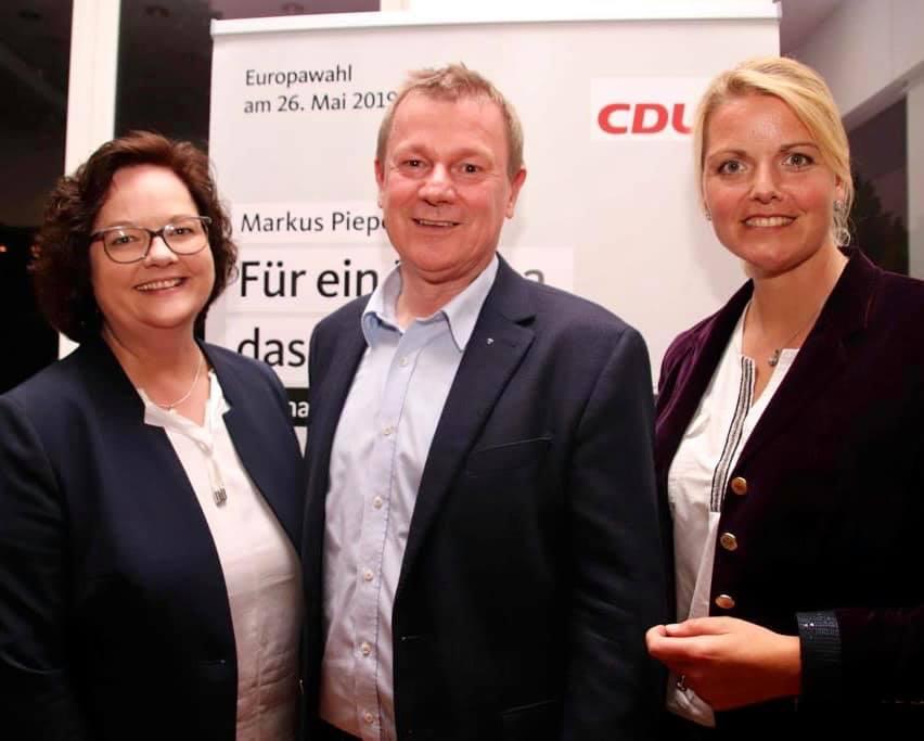 Bürgerdialog Europa mit MdEP Dr. Markus Pieper in der Stadthalle in Rheien