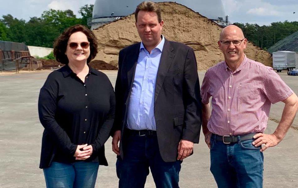 Gemeinschafts-Biogasanlage in Altenrheine
