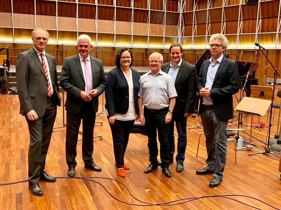 Besuch der Medienpolitiker der CDU-Landtagsfraktion zu Gast beim Deutschlandradio in Köln