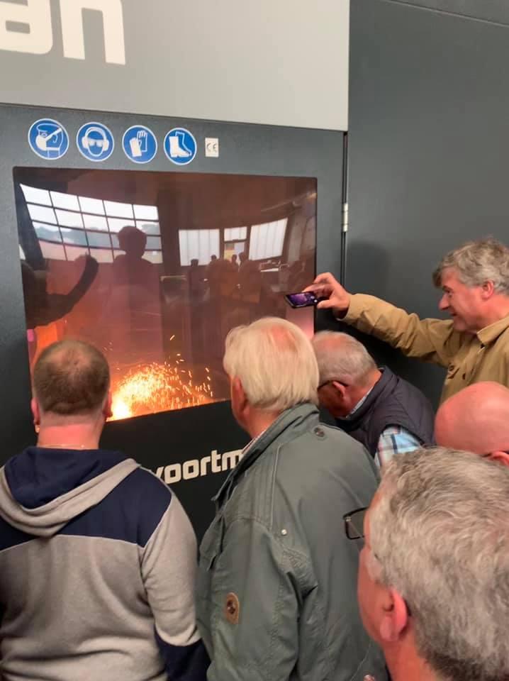 Besuch bei Helmig Stahl- und Metallbau mit der CDU Riesenbeck