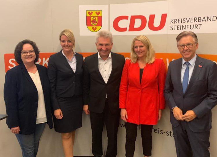 Wirtschaftspolitische Fachtagung des CDU-Kreisverbandes Steinfurt mit NRW-Wirtschaftsminister Prof. Pinkwart