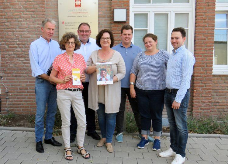 Auf dem letzten Weg begleiten – CDU-Landtagsabgeordnete  Andrea Stullich beim ökumenisch-ambulanten Hospiz Rheine