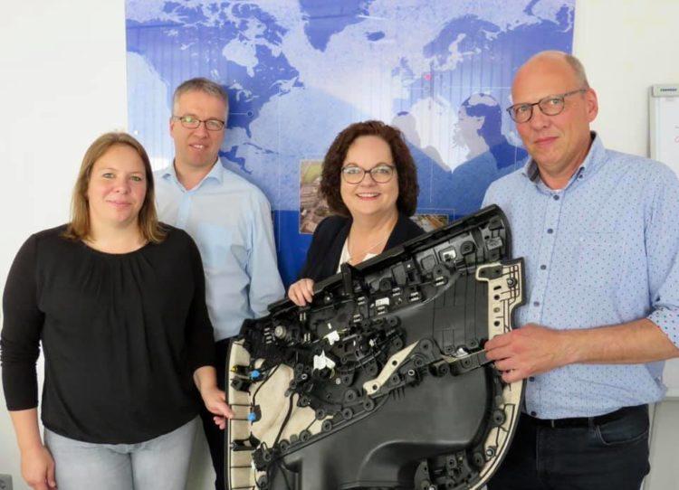 Betriebsbesichtigung bei Polyvlies Franz Beyer GmbH & Co. in Bevergern
