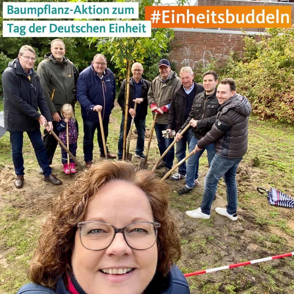 """""""Einheitsbuddeln"""" der CDU Rheine"""