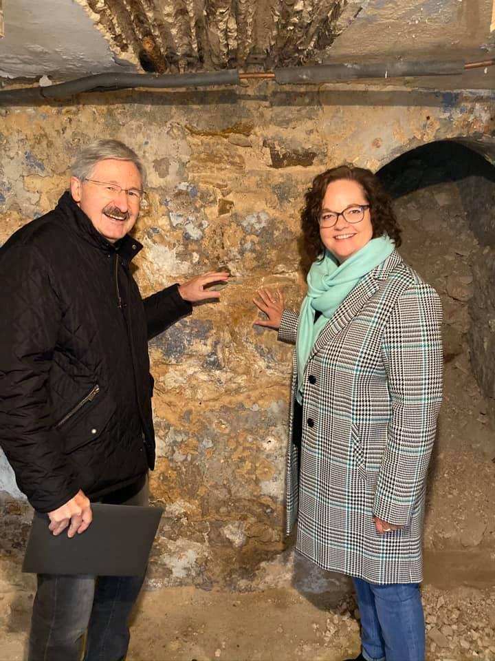 Besuch im Traufenhaus an der Münstermauer 27