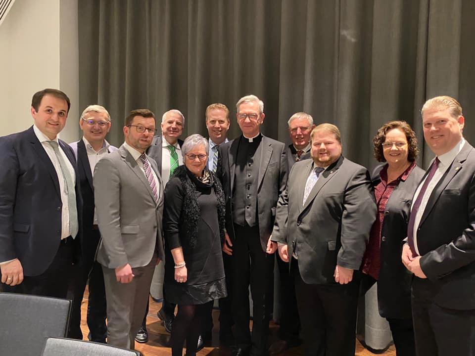 Einführung des neuen Domkapitulars Antonius Hamers in Münster