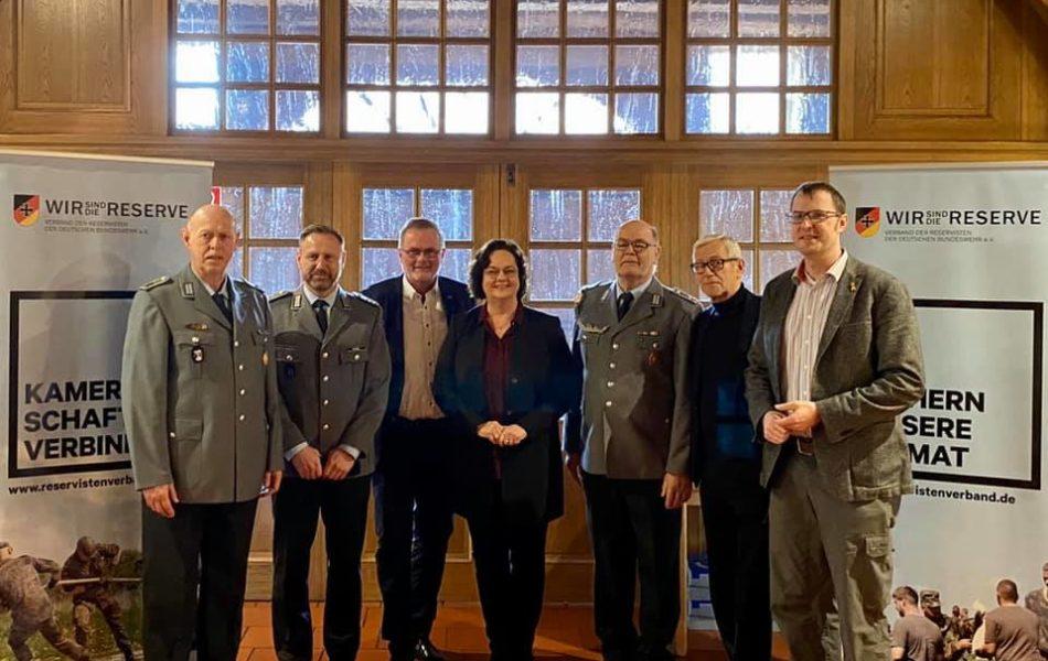 Neujahrsempfang der Kreisgruppe Steinfurt im Reservistenverband in Lotte