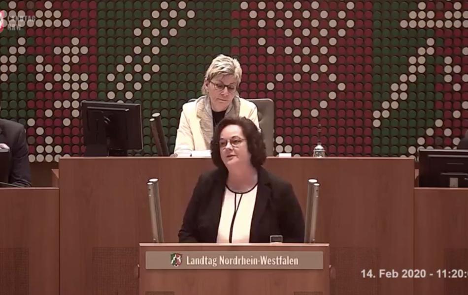 Rede zur Entwicklung des Zeitungsmarktes in NRW