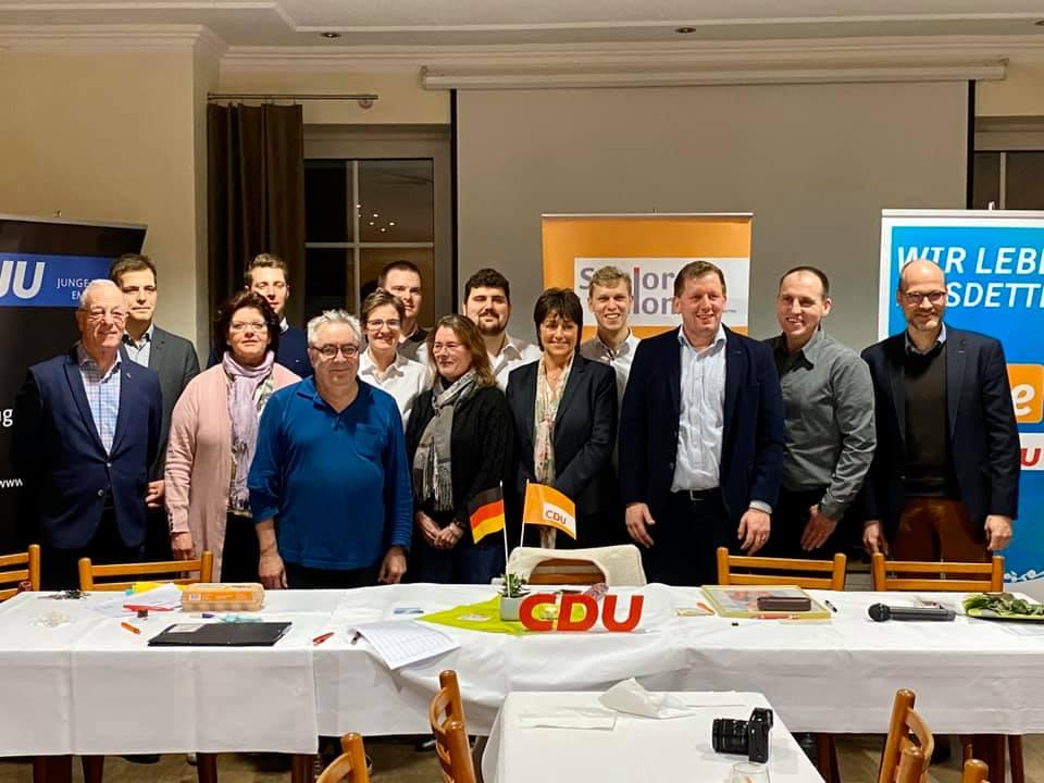 Mitgliederversammlung der CDU Emsdetten mit Vorstandswahlen