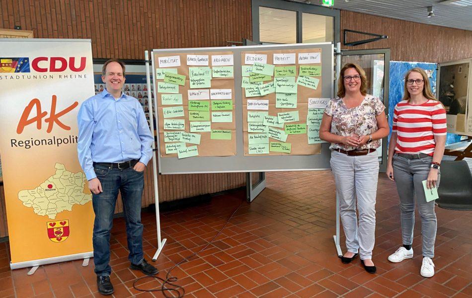 CDU-Ideenwerkstatt im Südraum von Rheine