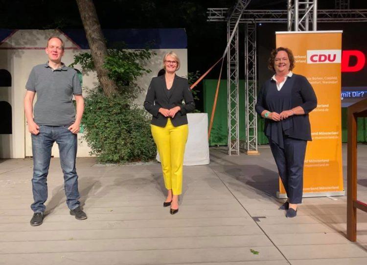 Bezirksparteitag der CDU Münsterland auf der Freilichtbühne in Coesfeld
