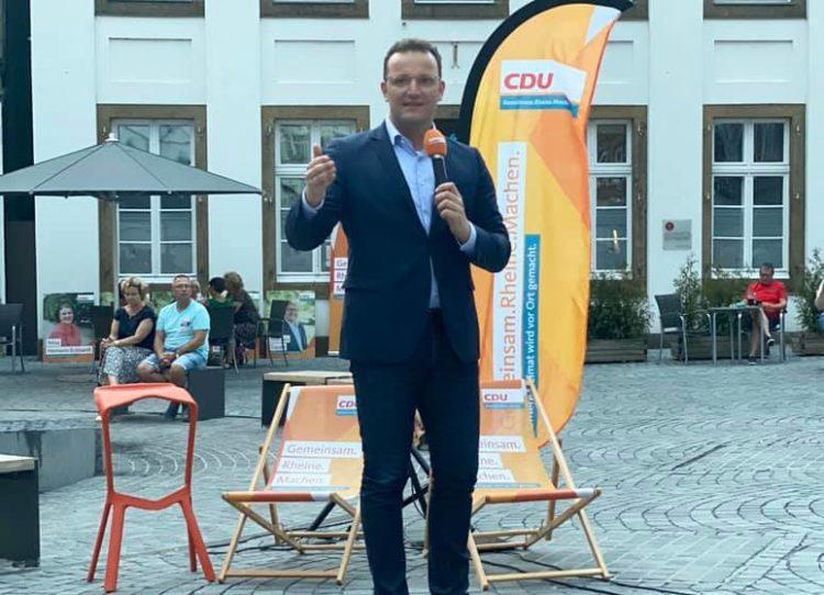 Gesundheitsminister Spahn in Rheine