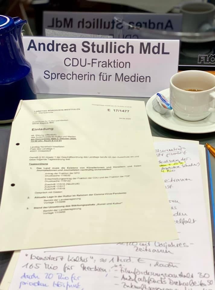 """Hilfs-Paket """"Neustart Kultur""""  entlastet auch NRW-Lokalradios"""