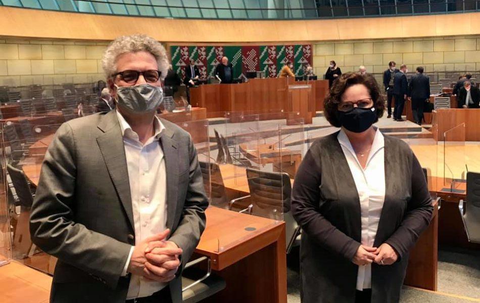 Sondersitzung des Landtags zur Corona-Pandemie