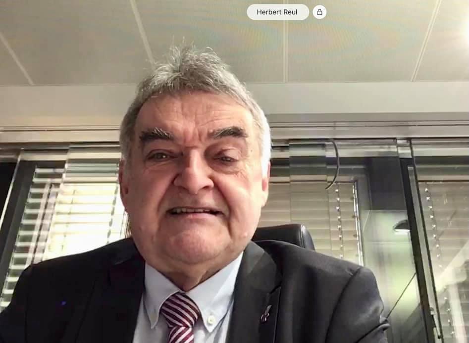 Videokonferenz des CDU-Kreisverbandes mit Innenminister Herbert Reul