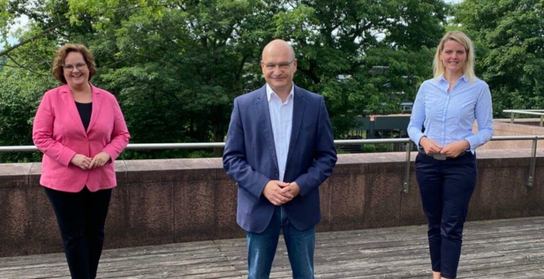 Gespräch mit Landrat Dr. Martin Sommer